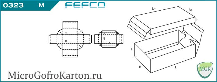FEFCO 0323 MicrogofroKarton