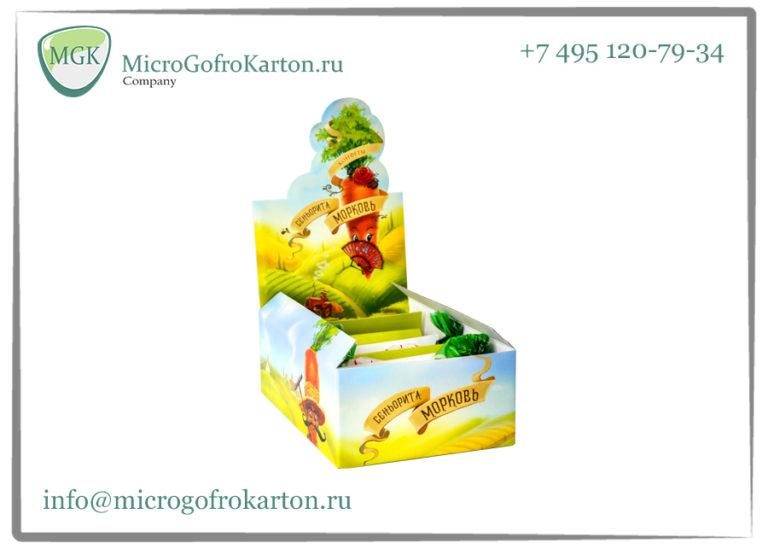 Шоубокс MicrogofroKarton